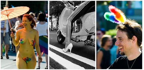 Regenbogenparade Mosaico