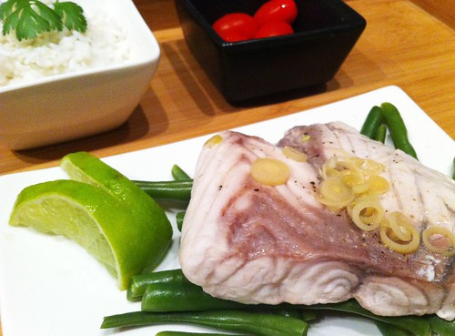 Steamed Barramundi with Lemongrass & Lime by mjd-s