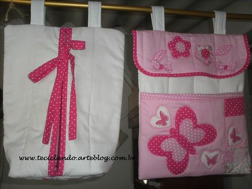 Quarto Bebê Maria Luiza 004 by Teciclando artes em tecidos