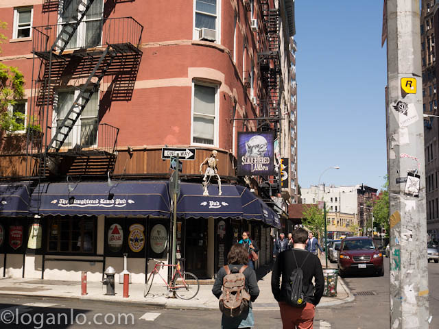 Slaughtered Lamb in NYC