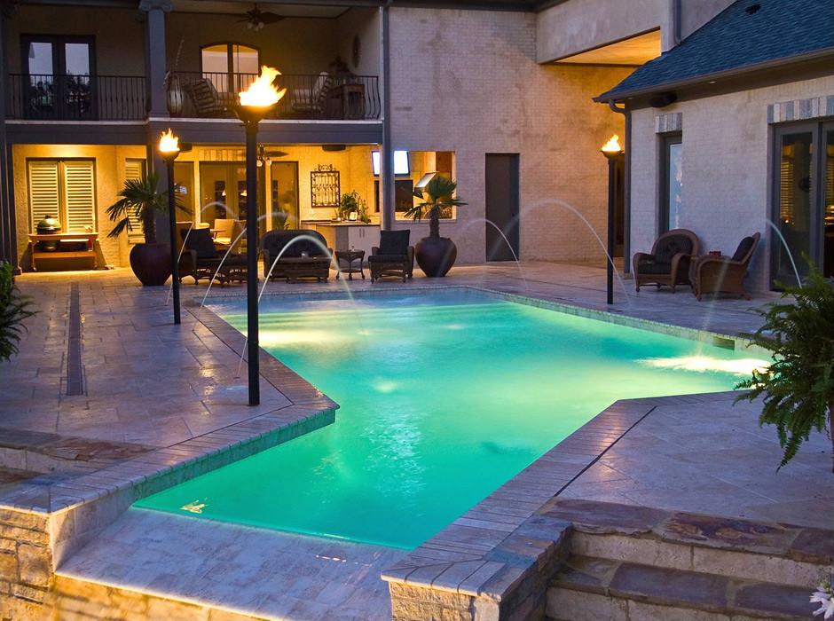Memphis Pool | Traditional/Geometric Swimming Pool | Getwe ...