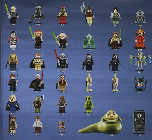 レゴスター・ウォーズのミニフィグコンプリートリスト. Summer 2012 Star Wars sets minifig inventory
