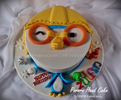 PORORO HEAD CAKE, DKM CAKES, JEMBER