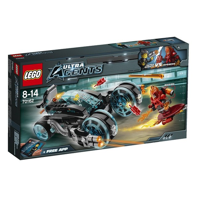 LEGO Ultra Agents 70162 - Infearno Interception