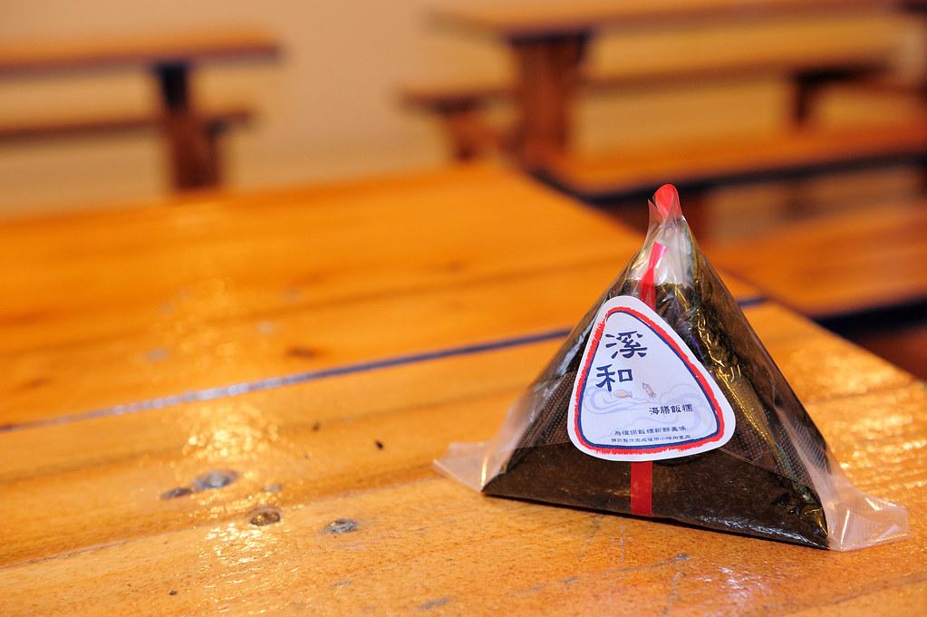 宜蘭五結【溪和三代目觀光工廠】海鮮料理親子DIY觀光工廠~汆燙@飯糰@押片DIY 篇~