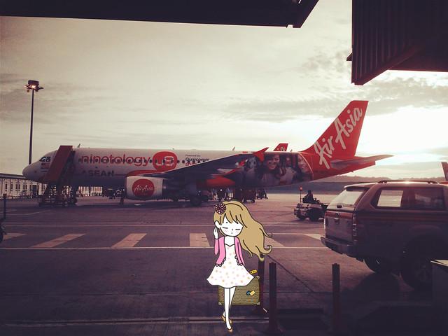 Visiting Sydney: Air Asia