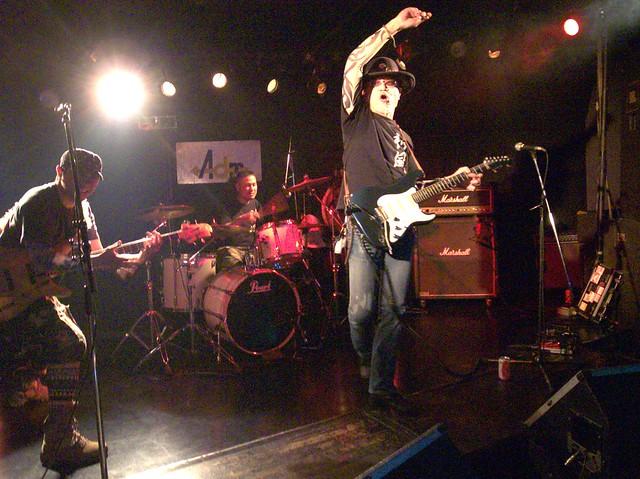 神風 KAMIKAZE live at Adm, Tokyo, 18 Apr 2014. 099