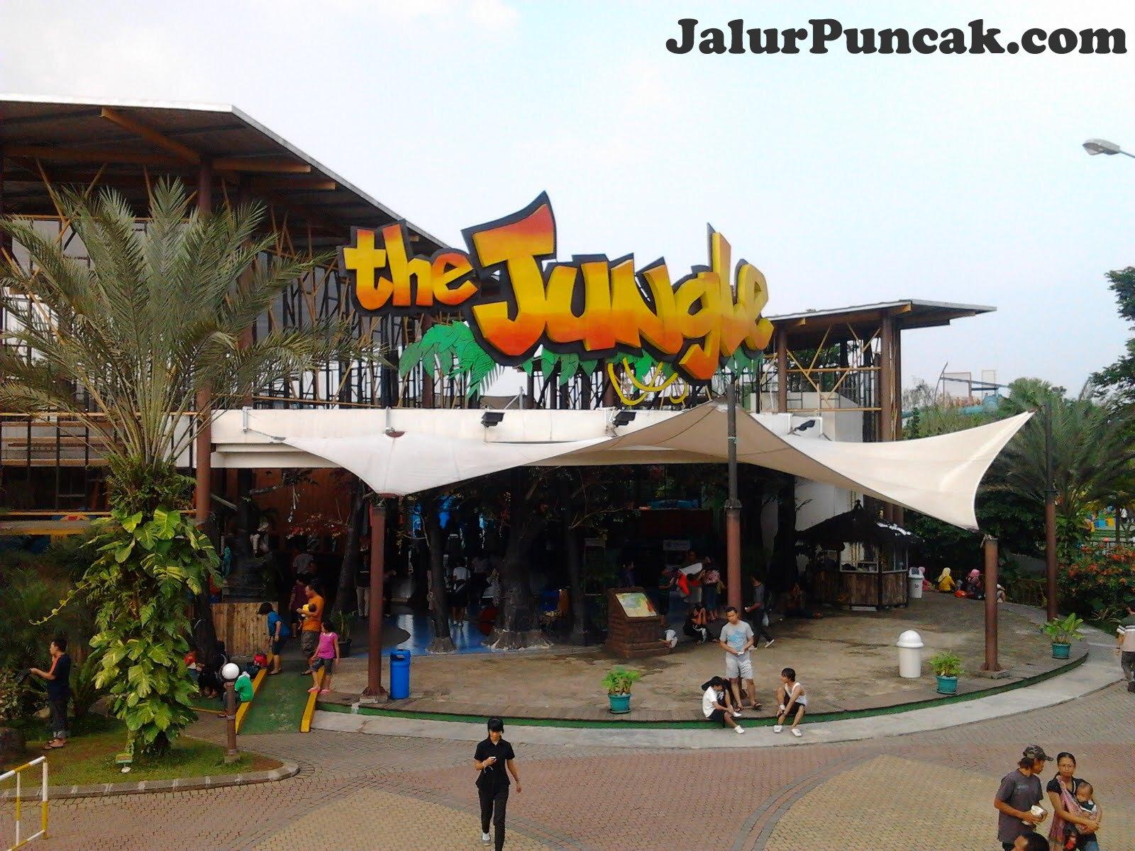 """Water Park """"The Jungle"""" Bogor Menjadi Pilihan Saat Liburan Sekolah"""