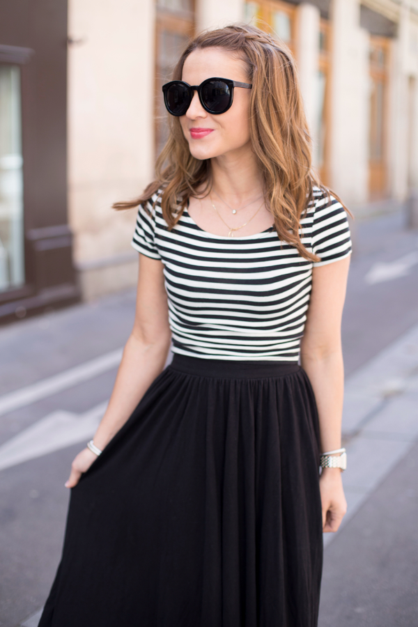 Midi + Crop Top in Paris