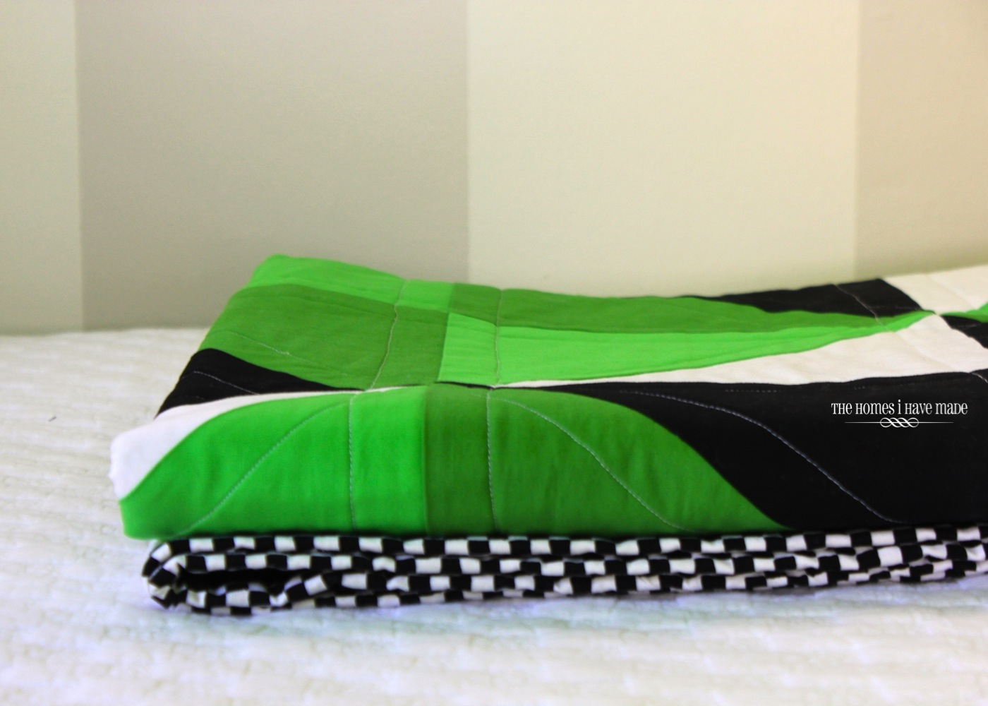 Henry's Green Quilt-013