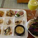 レストラン Peaceのランチ 東南植物楽園