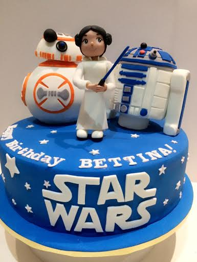 Star Wars Cake by Rich Ong