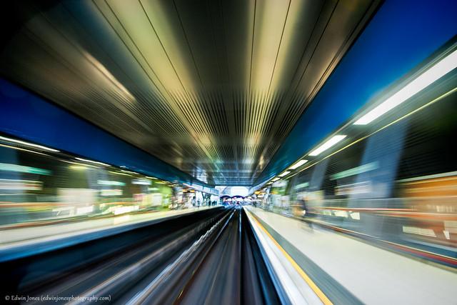 DLR Train Speed