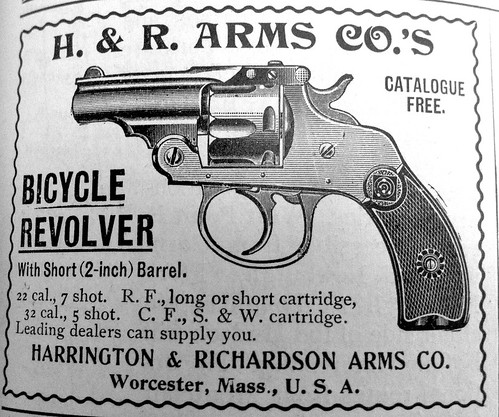 H & R Arms Bicycle Revolver