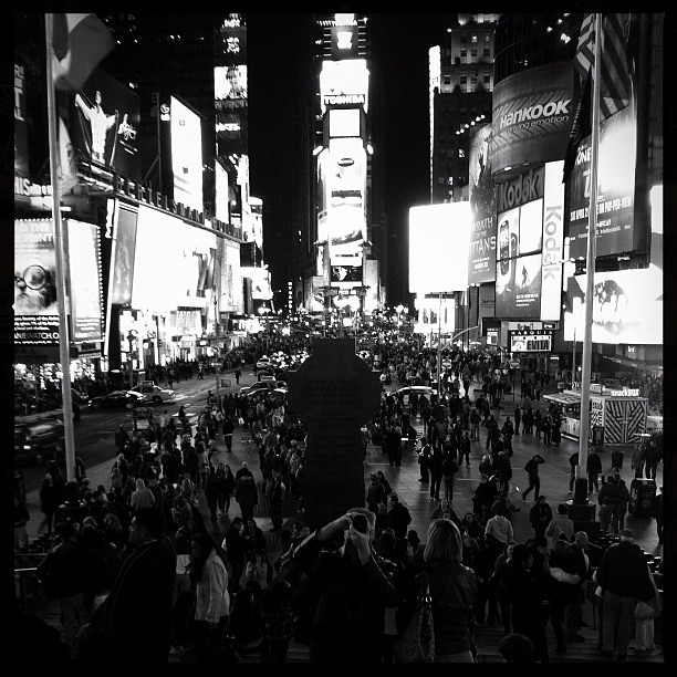 Meanwhile, Last Night in Times Square