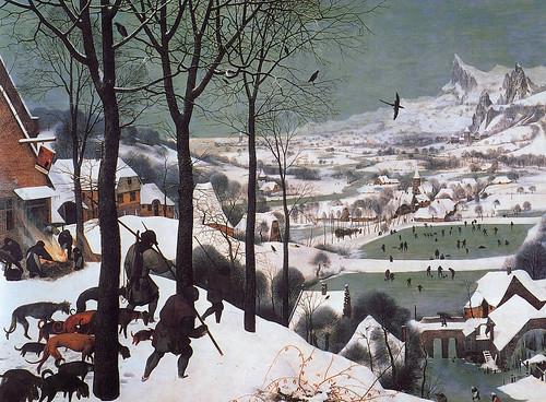 Pieter Bruegel the Elder - Hunters in the snow