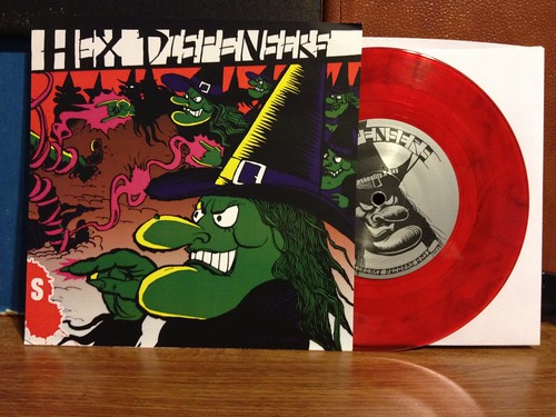 "Hex Dispensers - Razorcake Sister Series III 7"" by Tim PopKid"