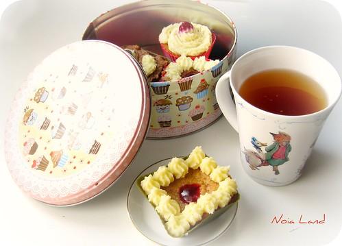 Cupcakes de mermelada