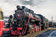 "Soviet Steam Locomotive L (""Л"") Series. Советский паровоз серии ""Л""."