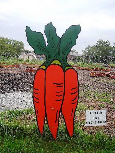 Altgeld Carrot Sign