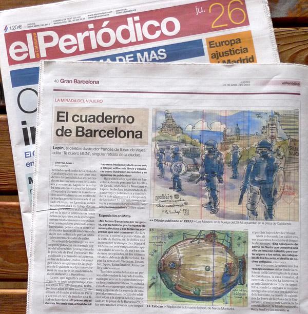 """interview in """"el periódico"""""""