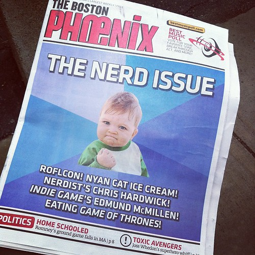 The Boston Phoenix: The Nerd Issue #ROFLcon by stevegarfield
