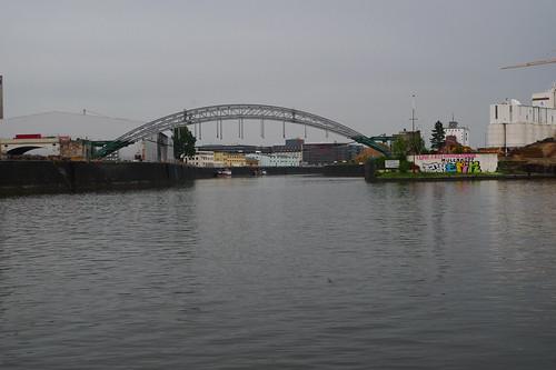 Honsellbrücke im Umbau 2012