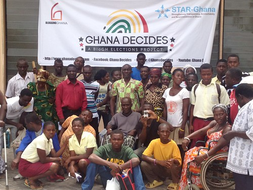 Participants at the Ghana Decides and iRegistered Campaign Launch
