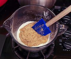 Chocolate Chip Cardamom Oat Blondies