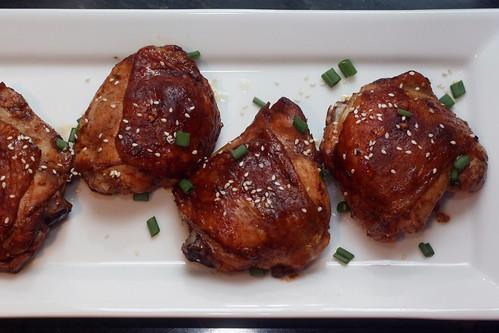 oven baked Sriracha chicken