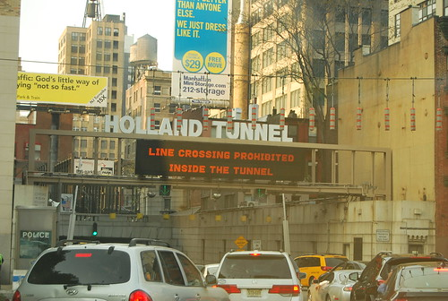 holland tunnel = home