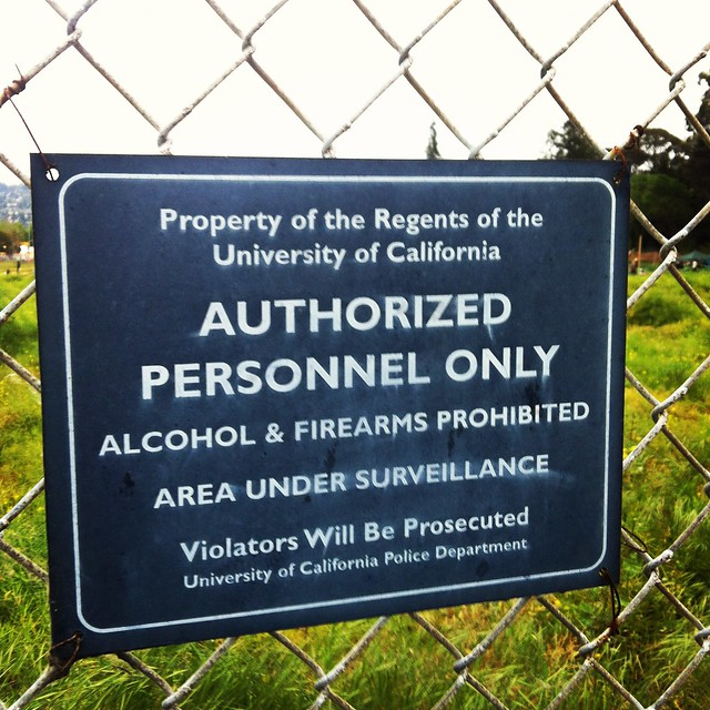... personnel only - violators will be prosecuted - Occupy the Farm