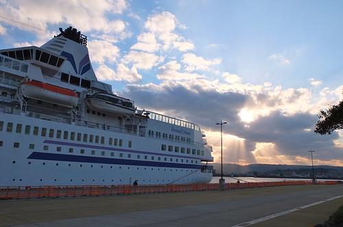 PACIFIC VENUS at Kagoshima Port