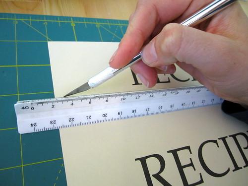 Cutting page