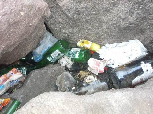 Fotos de Uno de Melilla, Denuncia del estado de los diques de las playas de Melilla