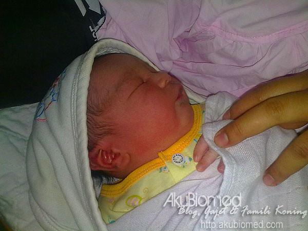 menyambut kelahiran Baby Aslah pada 2010