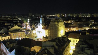 Lublin by night