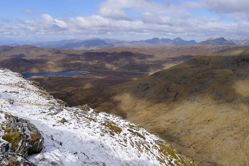 Towards Applecross and the Coulin Hills