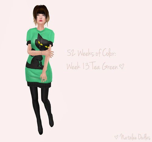 52 Weeks of Color Challenge: Week 13 Tea Green! ; TWO