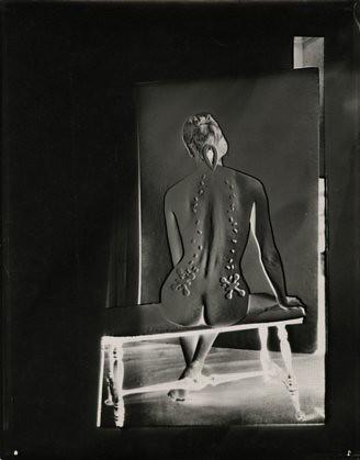 Josef BREITENBACHElectric Back , 1949Vintage gelatin silver print13 x 10inches