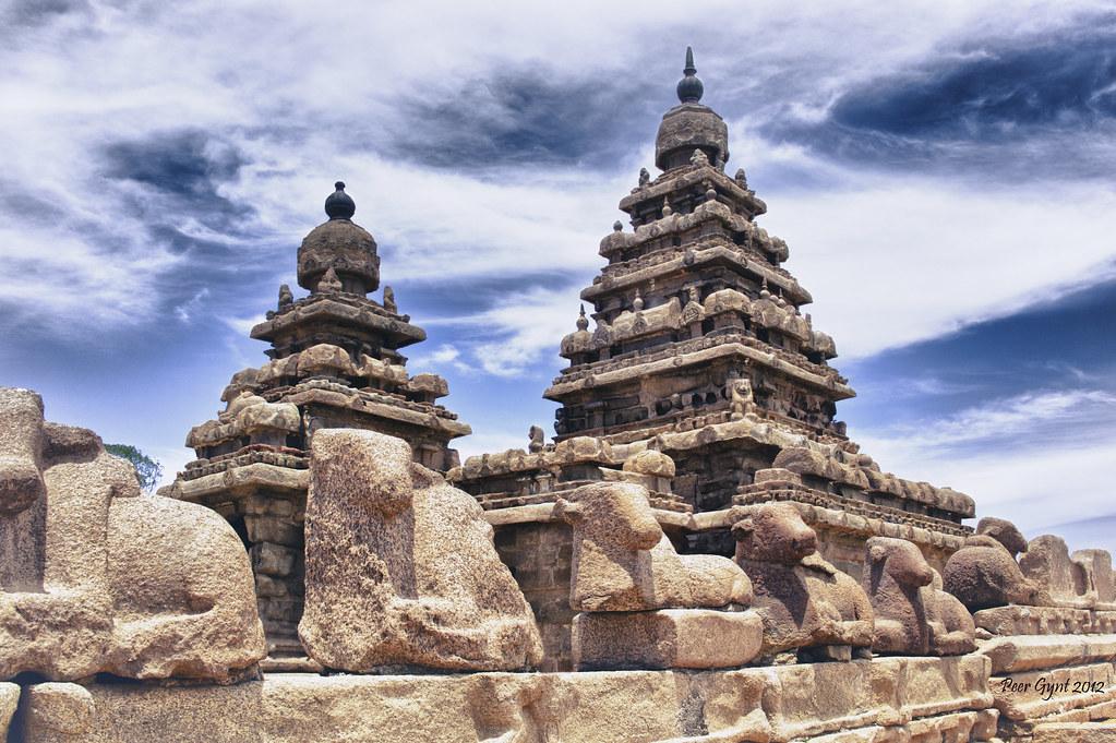 Shore Temple. Mahabalipuram.