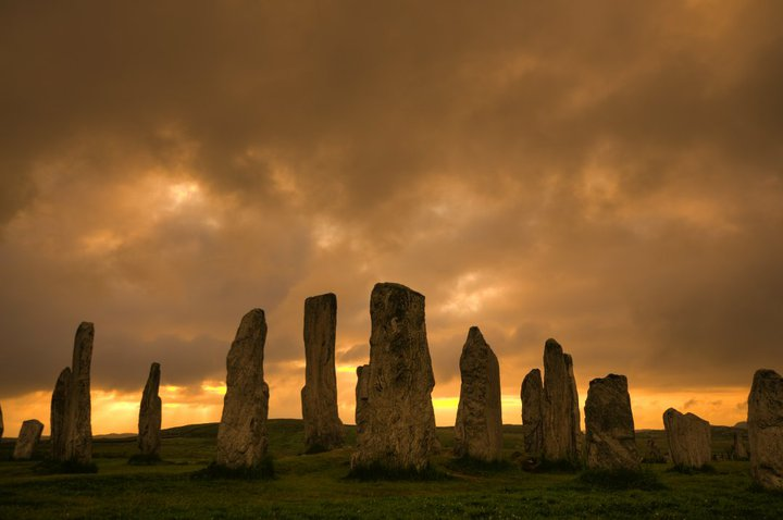 callanish Stones Sunset