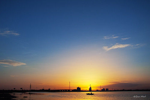 skyline sunrise sudan khartoum qusai akoud