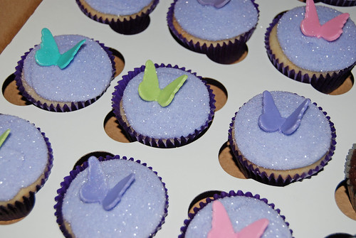 Fairy Wings Cupcakes for a Pirates and Fairies Party