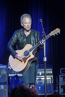 Lindsey Buckingham and One of his Guitars - San Francisco