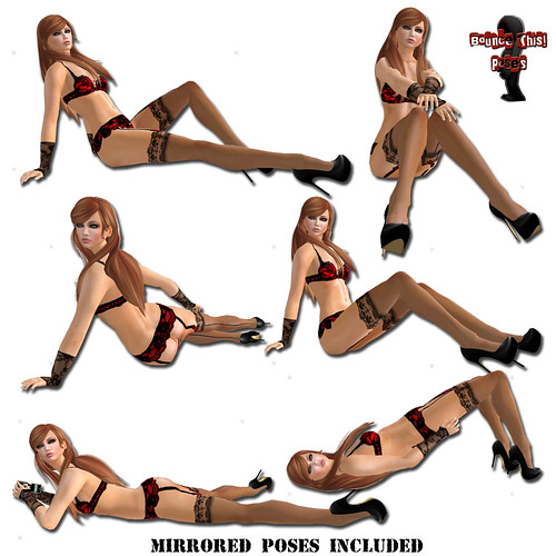 Bounce This Poses - Sitting Pose Pack