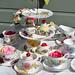 Cottage Garden  Eclectic Tea Set
