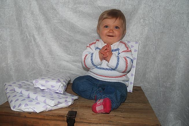 Agnes 1 år