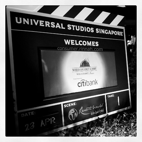 World Gourmet Summit at Universal Studios Singapore