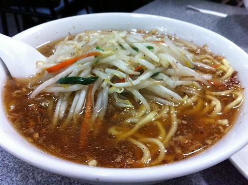 渋谷「喜楽」といえば「もやし麺」